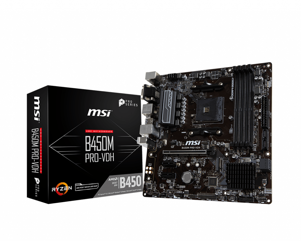 B450M PRO-VDH | Motherboard - The world leader in motherboard design