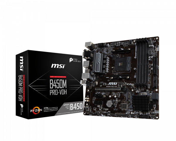 B450M PRO-VDH | Motherboard - The world leader in
