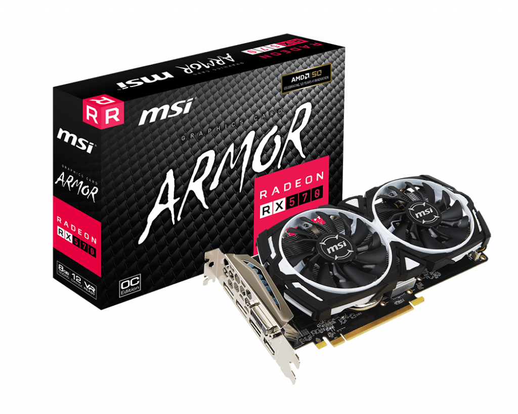 Support For Radeon RX 570 ARMOR 8G OC | Graphics card - The world
