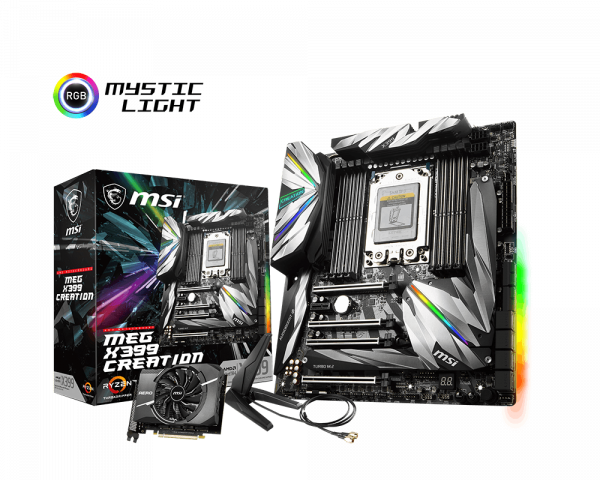 MEG X399 CREATION | Motherboard - The world leader in
