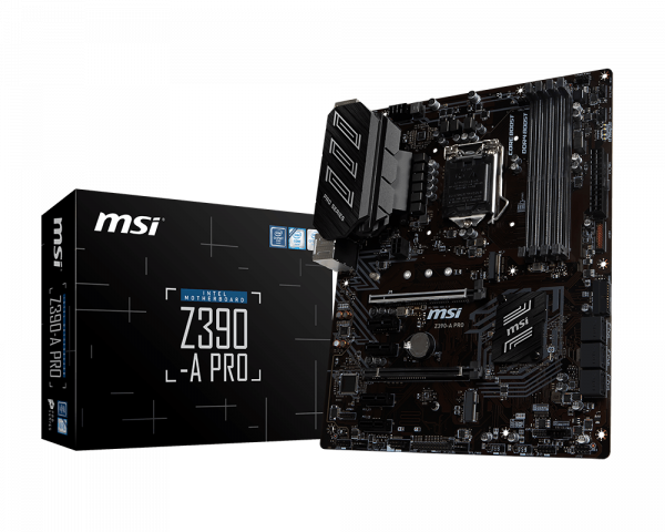 Overview Z390 A Pro Msi Global