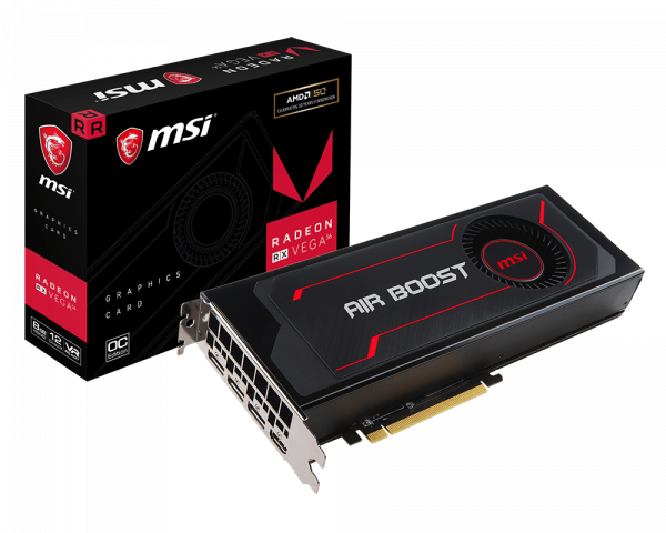 Radeon RX Vega 56 Air Boost 8G OC | Graphics card - The world leader