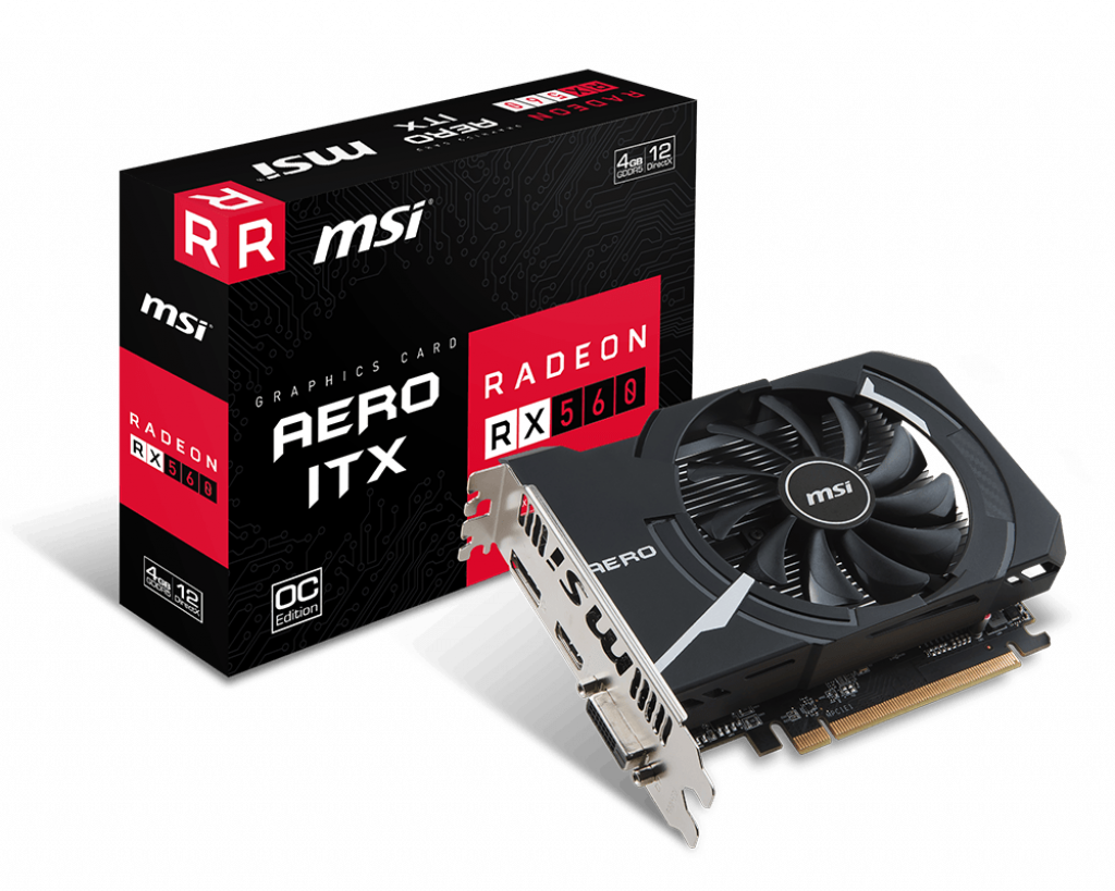 Support For Radeon RX 560 AERO ITX 4G OC | Graphics card