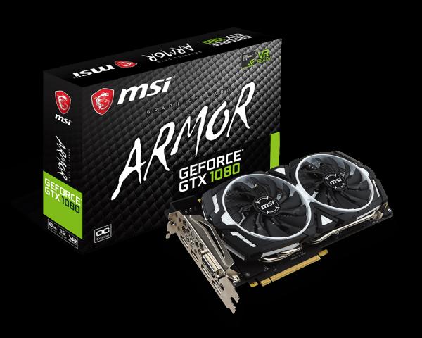 GeForce GTX 1080 ARMOR 8G OC | Graphics card - The world