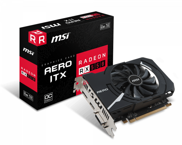 Radeon RX 550 AERO ITX 2G OC | Graphics card - The world