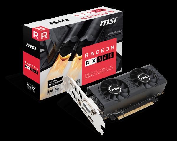 Radeon RX 560 4GT LP OC   Graphics card - The world leader