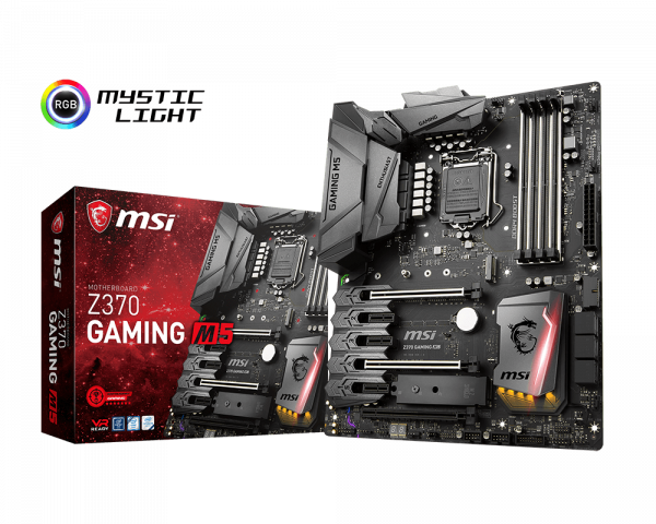 Z370 GAMING M5 | Motherboard - The world leader in