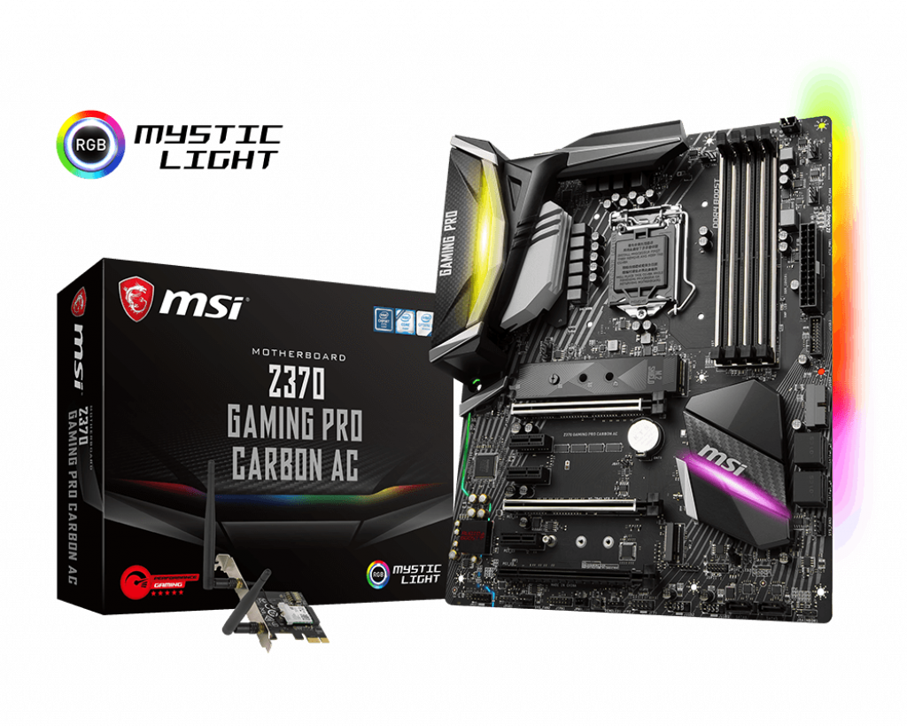 Z370 GAMING PRO CARBON AC - Best Motherboards for Core i7-8700k