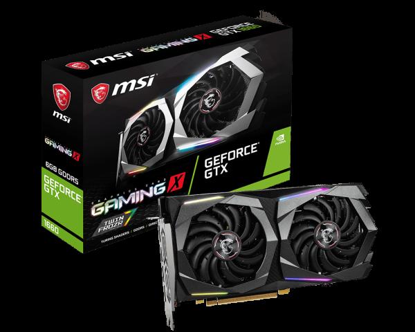 GeForce GTX 1660 GAMING X 6G
