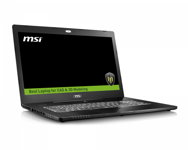 WS72 6QI | MSI Global | Workstation - The best laptop for CAD & 3D ...