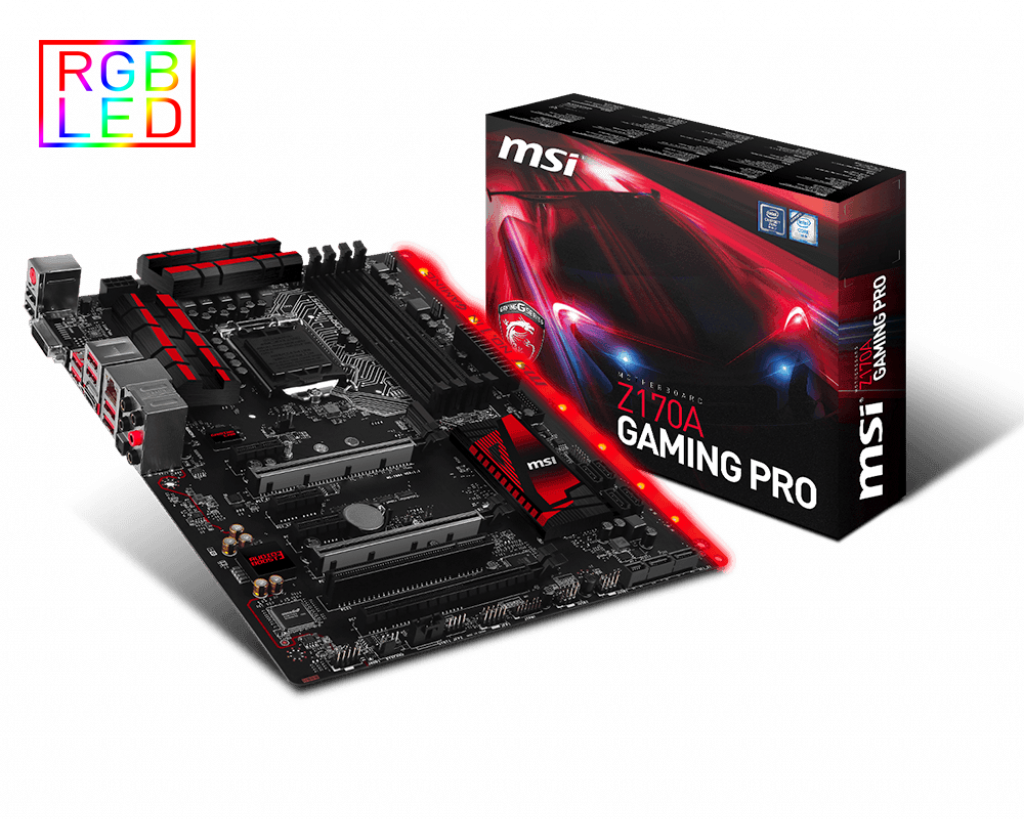 Support For Z170A GAMING PRO | Motherboard - The world