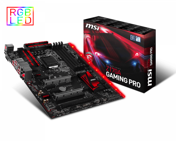 Z170A GAMING PRO | Motherboard - The world leader in motherboard