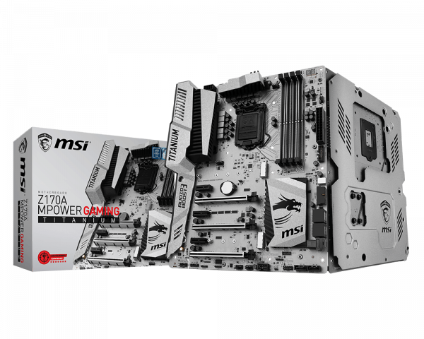 Z170A MPOWER GAMING TITANIUM | Motherboard - The world