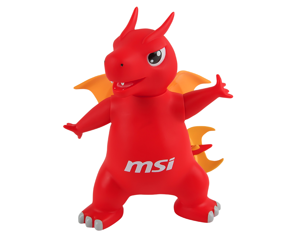 Lucky Figure Rotocast Msi Dragon Collections