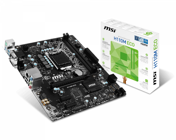 H110M ECO | Motherboard - The world leader in motherboard design
