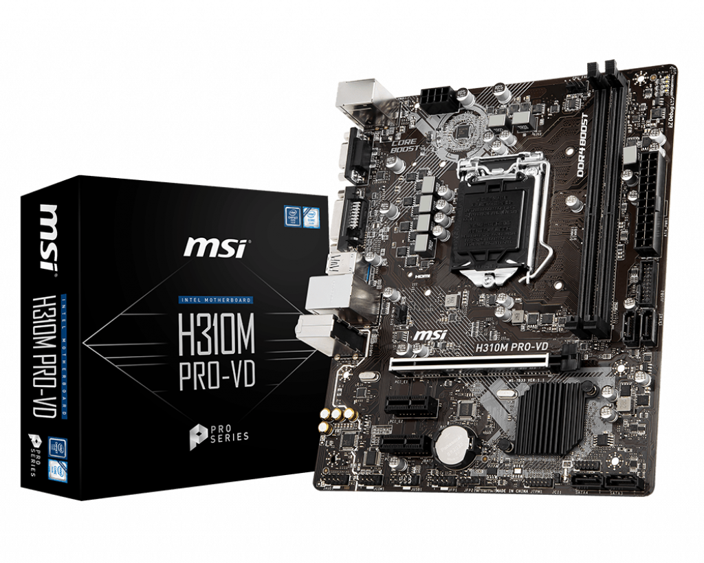 H310M PRO-VD | Motherboard - The world leader in motherboard