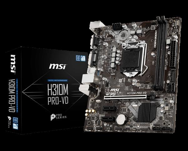 H310m Pro Vd Motherboard The World Leader In Motherboard Design