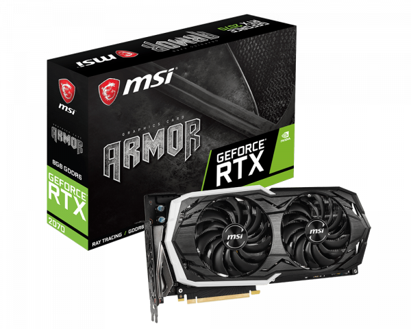 Review MSI Armor Geforce RTX 2070 1