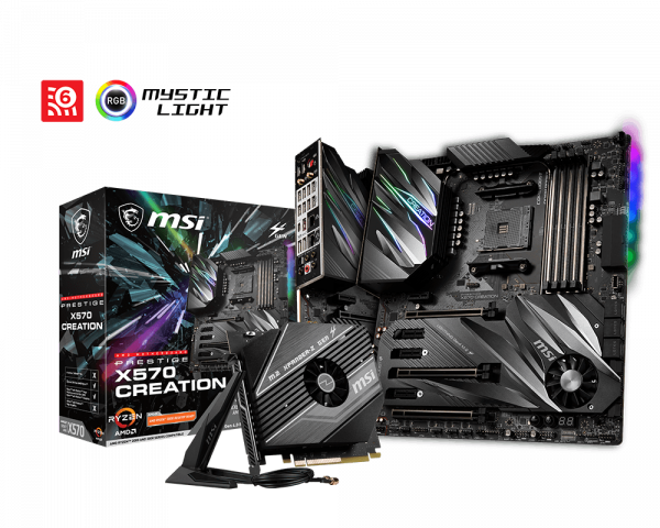 Review MSI Prestige X570 Creation 1