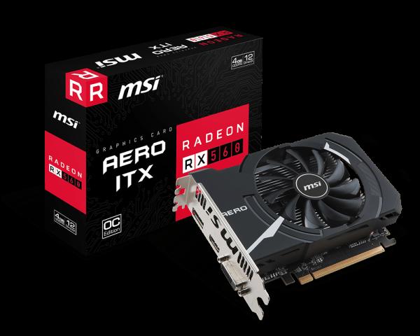 Radeon RX 560 AERO ITX 4G OC |...