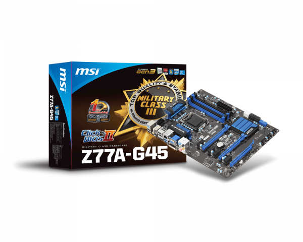 MSI Z77A-G45 Intel Smart Connect Technology Driver Windows 7