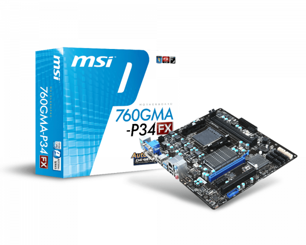 760GMA-P34 (FX) | Motherboard - The world leader in