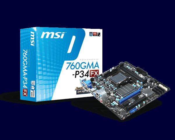 MSI 760GMA-P34 (FX) ASMedia SATA Driver (2019)
