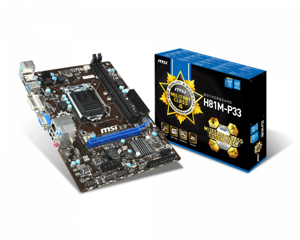 H81M-P33 | Motherboard - The world leader in motherboard