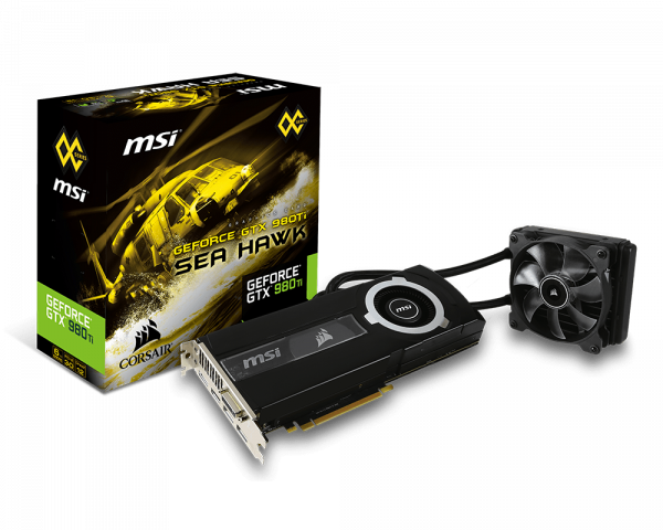 GeForce GTX 980 Ti SEA HAWK | Graphics card - The world