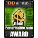 DDWorld.cz Good Performance ratio AWARD