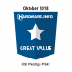 Great Value Award - October 2018