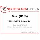 GF75 9SC 81%
