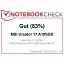 Creator 17 good 83%