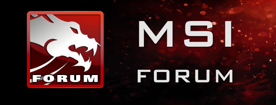 MSI Forum TH
