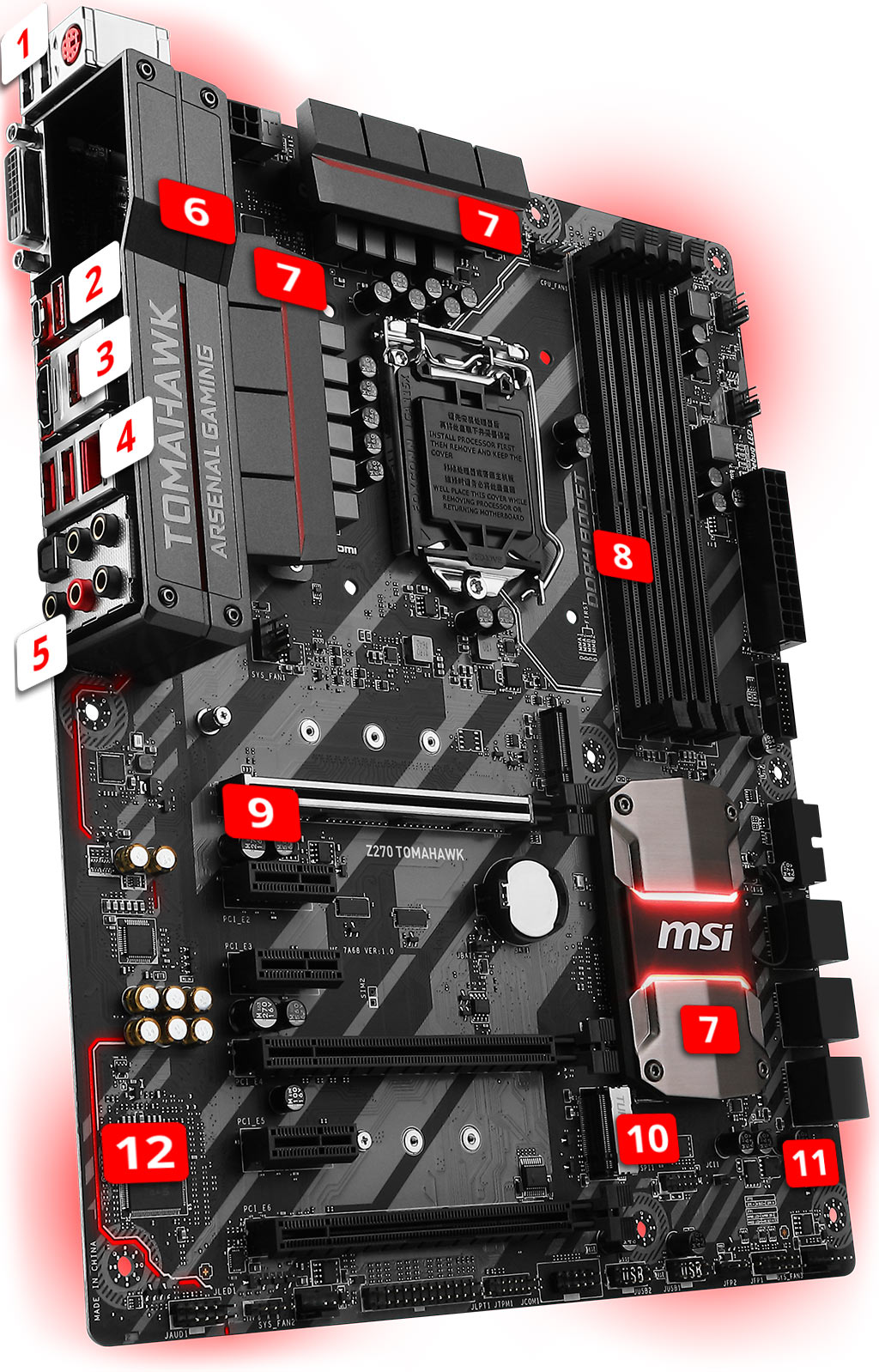 MSI Z270 TOMAHAWK overview