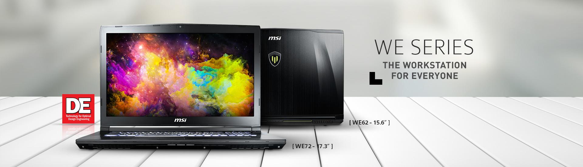 KBL workstation WE Series