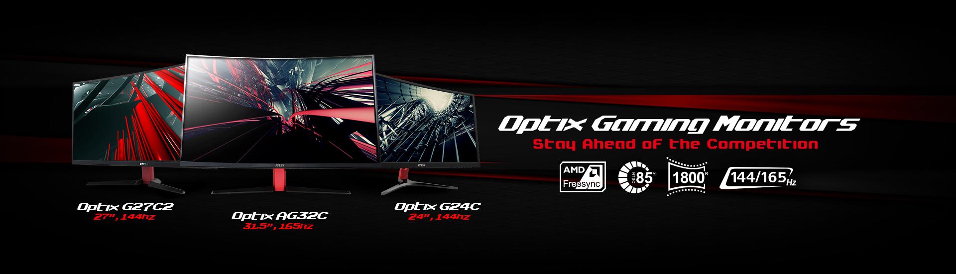 MSI Optix Gaming Monitors
