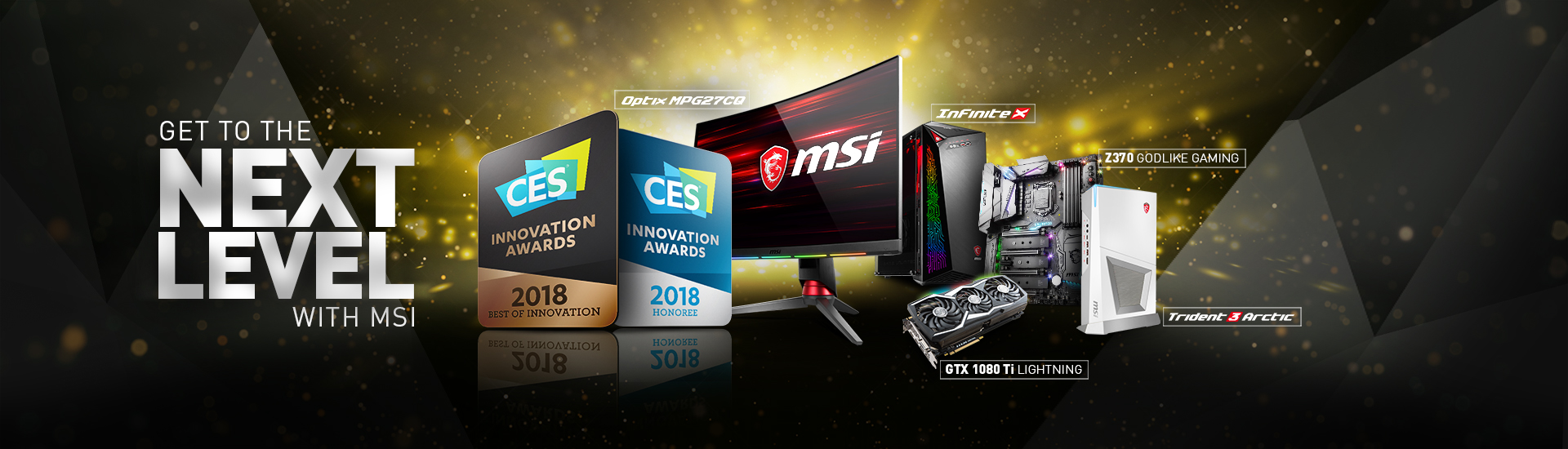 2018 CES Innovation Award Winning Gaming Gear
