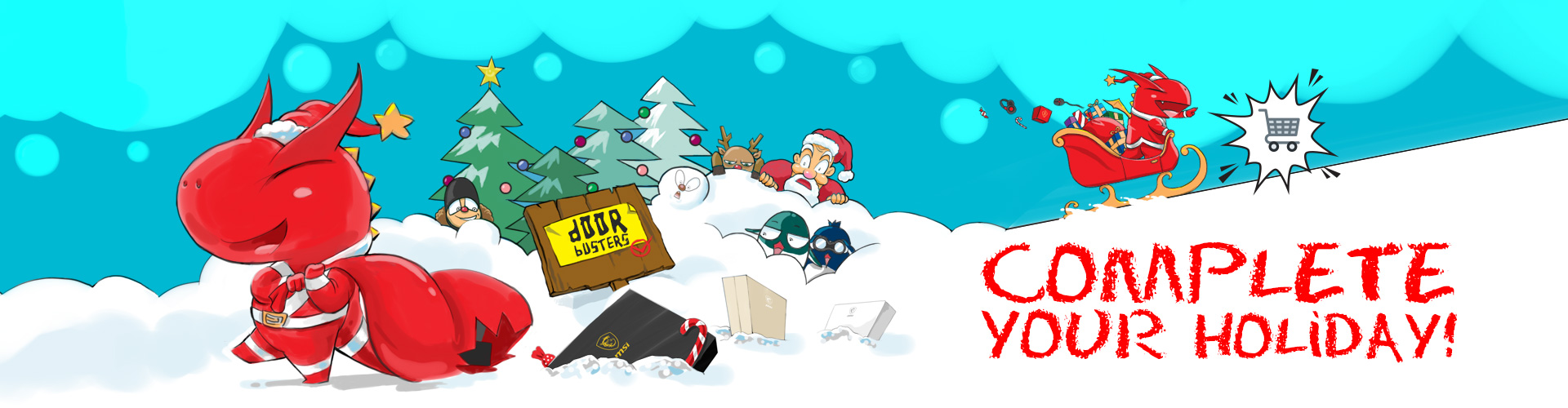 MSI Holiday Promo