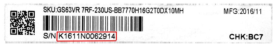 Warranty Information | MSI USA